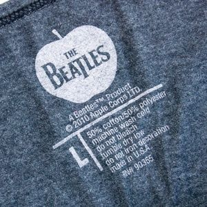 The Beatles Tops - 🇬🇧 THE BEATLES Hey Jude Official Ladies L Shirt